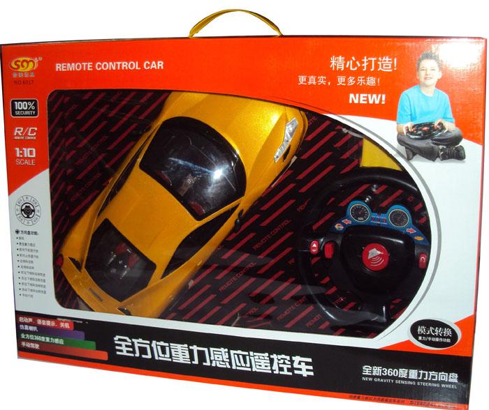 拾美玩具6017遥控车模型1:10全方位重力感应遥控车方向盘特价包邮