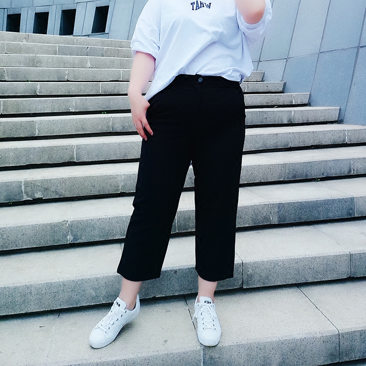 韩版大码女装夏