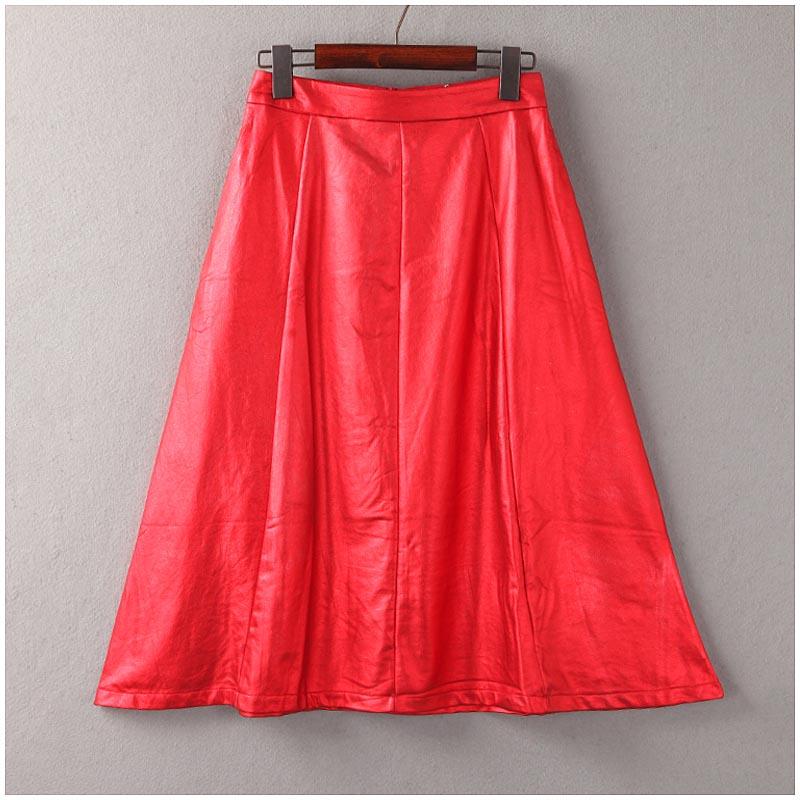 Co * осень/зима серии новые корейские длинная юбка высокой талии пальто слово женский ЧАО B3-87051