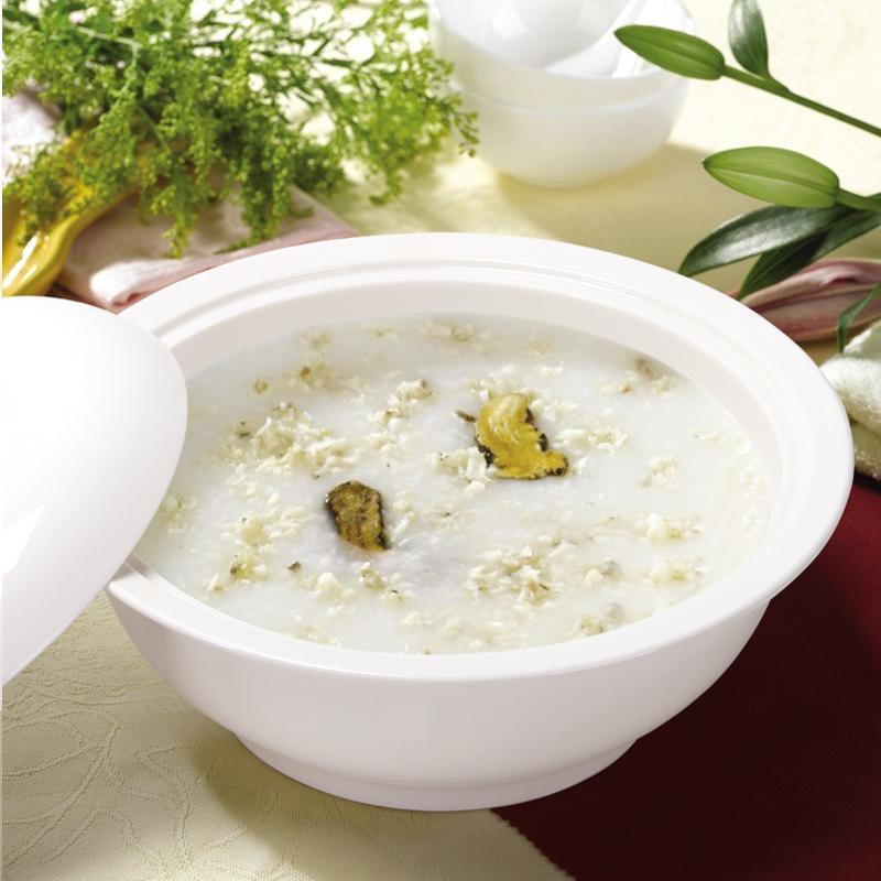 券后29.00元带盖9英寸纯白品锅+大汤勺陶瓷汤盆骨瓷家用餐具菜碗带大汤勺汤煲
