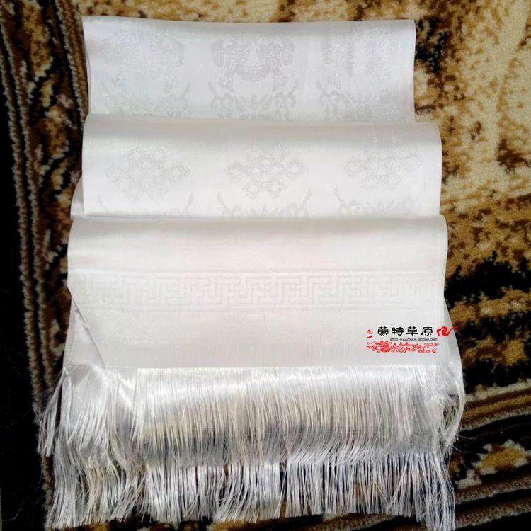 Hada оптовые продажи Бабао Хада белый Hada Mongol Tibetan Hada Этнические принадлежности Этикет Hada