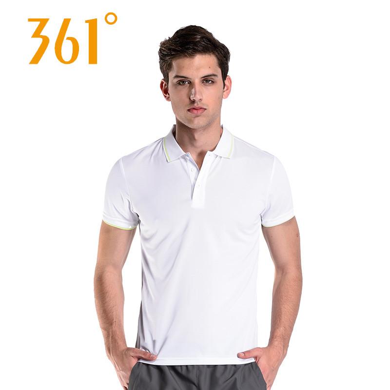 361度男裝 1 deg Cool透氣 T恤男短袖透氣 翻領polo衫短袖