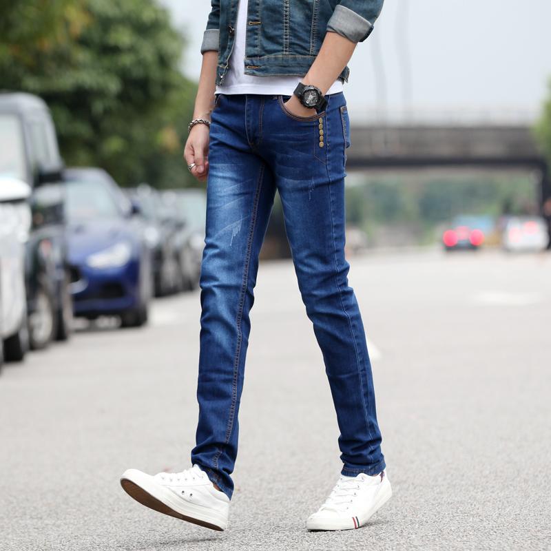 男士修身型小腳 牛仔褲