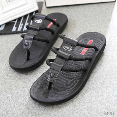 The new 2015 Vietnamese shoes slippers authentic AKULA male slippers rubber sandals flip-flops men slippers