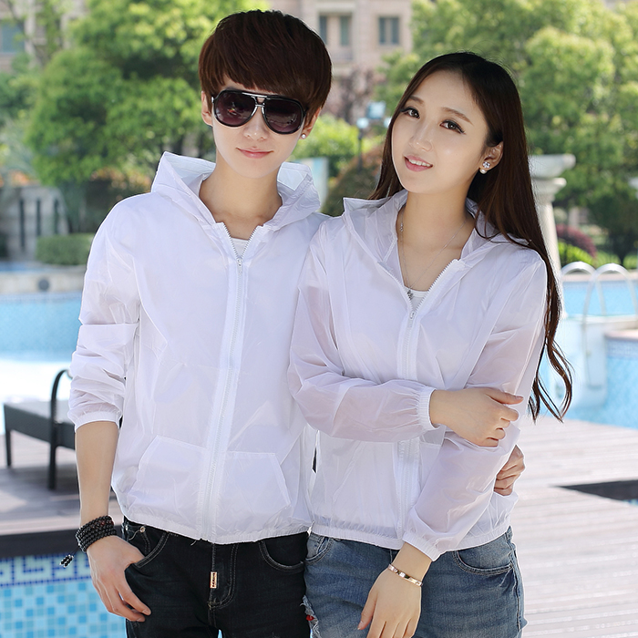 Zhendianzhibao sunscreen clothes for men and women super thin, breathable and quick dry skin in summer