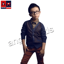 Fall 2015 angelkids counters with boys recreational sweater brand children's clothes at a loss to earn popularity