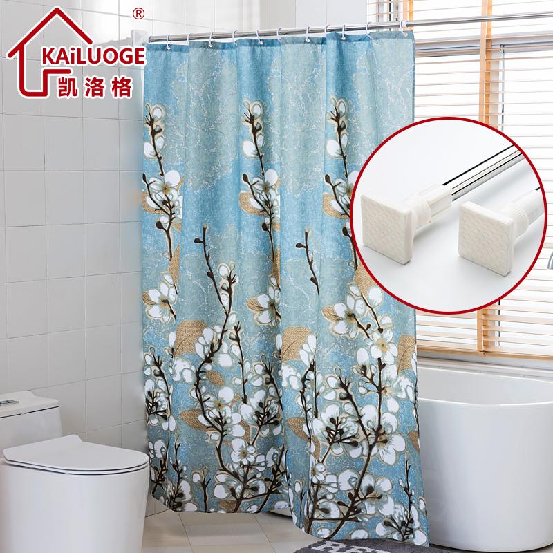 Торжествующий река лошуй сетка занавески для душа установить толстый полиэстер геометрическом плесень занавески для душа ткань ванная комната занавес ванная комната отрезать занавес отдавать кольцо