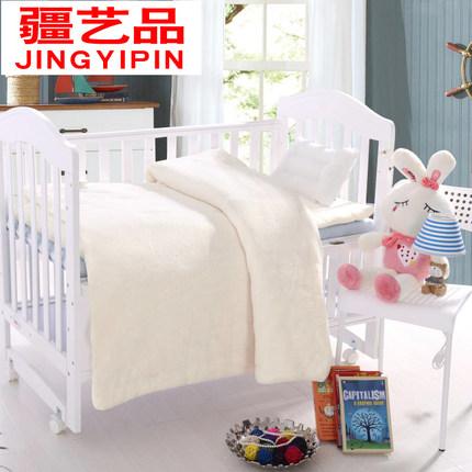 ¥39 幼儿园被子三件套冬被全棉花宝宝婴儿被春秋被芯被套儿童午睡棉被