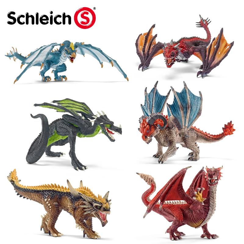 思樂動物侏羅紀恐龍仿真模型騎士世界龍騎士 飛龍戰鬥龍戰士
