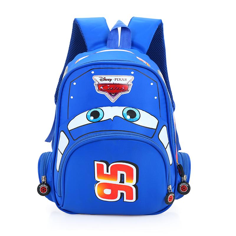 汽车总动员幼儿园中大班书包男童小孩2-3-5-6岁儿童宝宝双肩背包