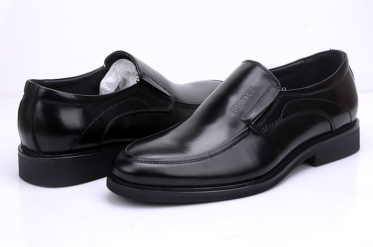 Senda top layer leather Senda soft sole and soft surface 2020 casual shoes black shoes shoes overshoot men's shoes