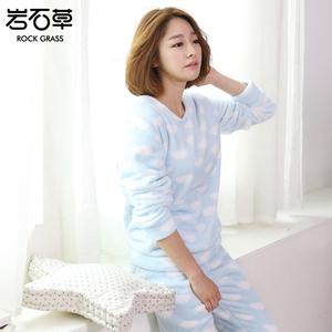 甜美可爱珊瑚绒睡衣...