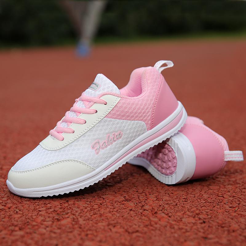邦媛仕 2017春季网鞋透气运动鞋超轻女子旅游鞋学生跑步鞋休闲鞋