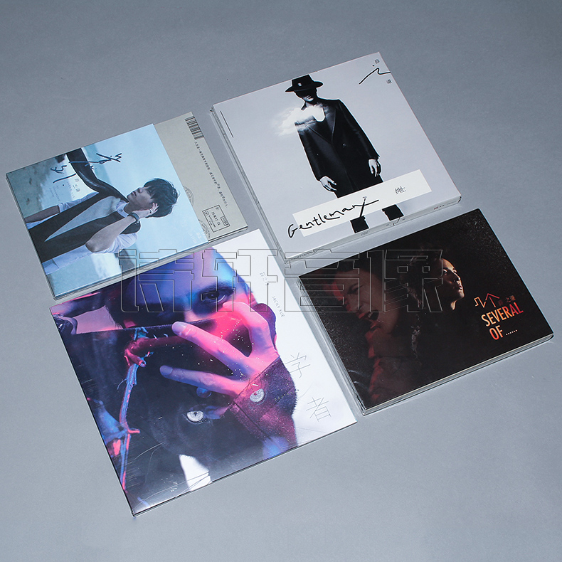 薛之谦专辑 意外+初学者+绅士+几个薛之谦 4CD+2DVD+写真歌词本