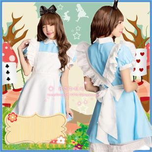 Alice in Wonderland dress maid Cosplay Women's Clothing Cosplay clothes COS clothing Comic Con Restaurant