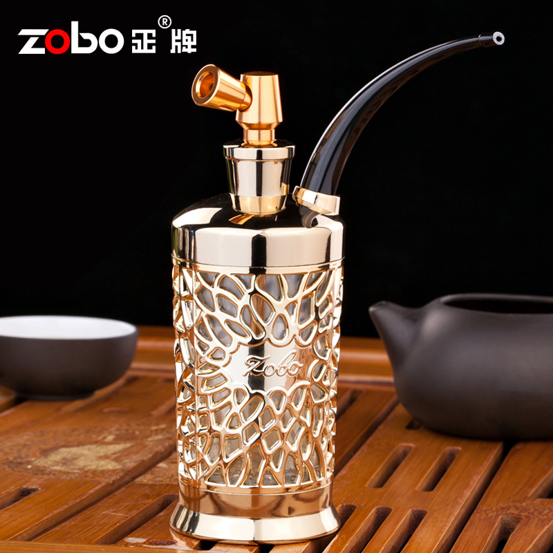 zobo正牌雙重過濾可清洗循環型水煙壺正品高檔水煙鬥 全套煙具
