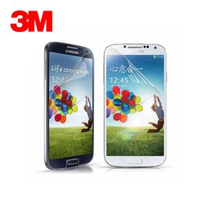 3M 三星S4贴膜 高透镜面 防刮耐磨 防静电抗灰尘 三星手机保护膜