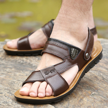 2015 summer Casual breathable sandals men slippers sandals male 52