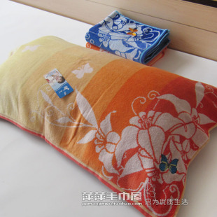 Yu Jie genuine Vosges Chunmian terry pillow soft pillow beautiful couple models Butterflies JY 8060Z