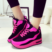 Fall 2015 new Korean student casual shoes, thick-soled sneakers women Forrest shoes women's shoes platform running shoes wave