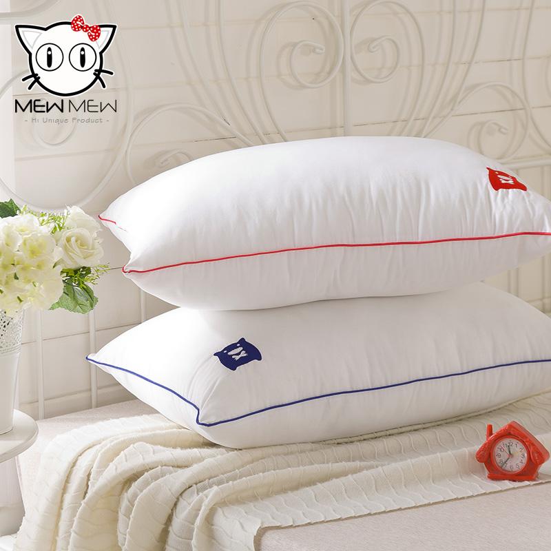 香港mew mew~Kimi 舒眠枕頭 情侶一對裝枕芯 頸椎保健 覺先生