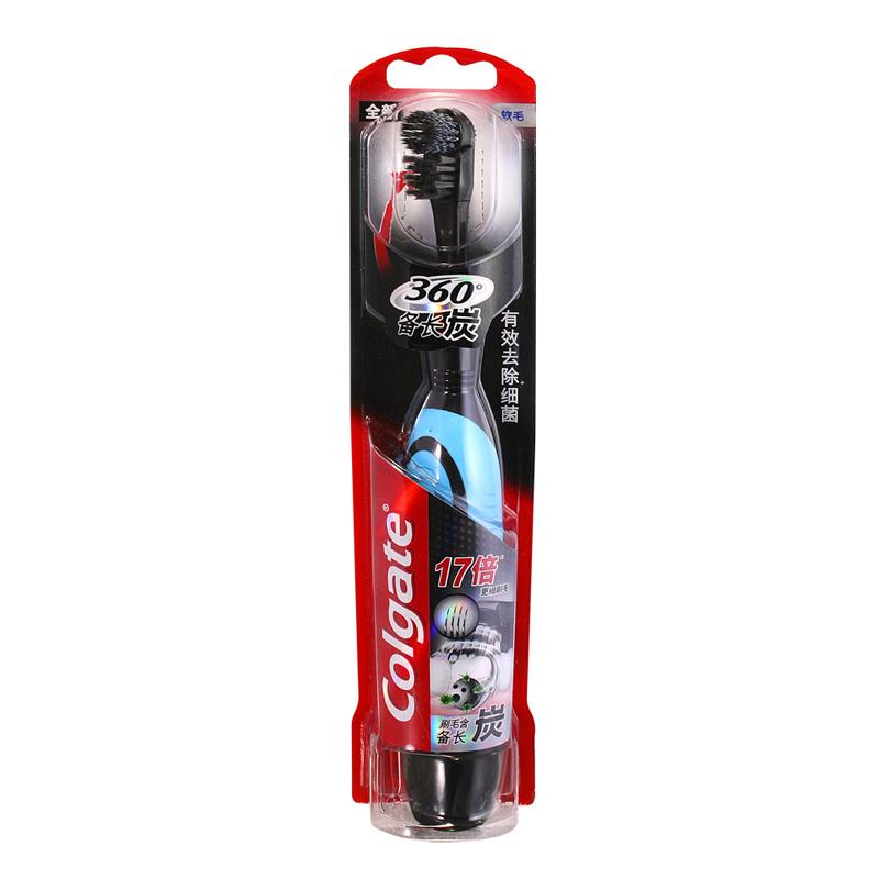 Colgate 高露潔360備長炭細絲~電動牙刷17倍更細刷毛