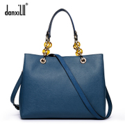 Shopping with Dan Greek fall/winter road sections high-end leather handbag chain bag shoulder bag bag