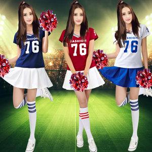 啦啦操服装表演服拉拉队服现代舞足球篮球宝贝服装啦啦队服演出服