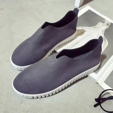 Europe was a popular logo fall 2015 new USES 0902 flat-bottomed leather casual shoes for women's shoes in Europe and America