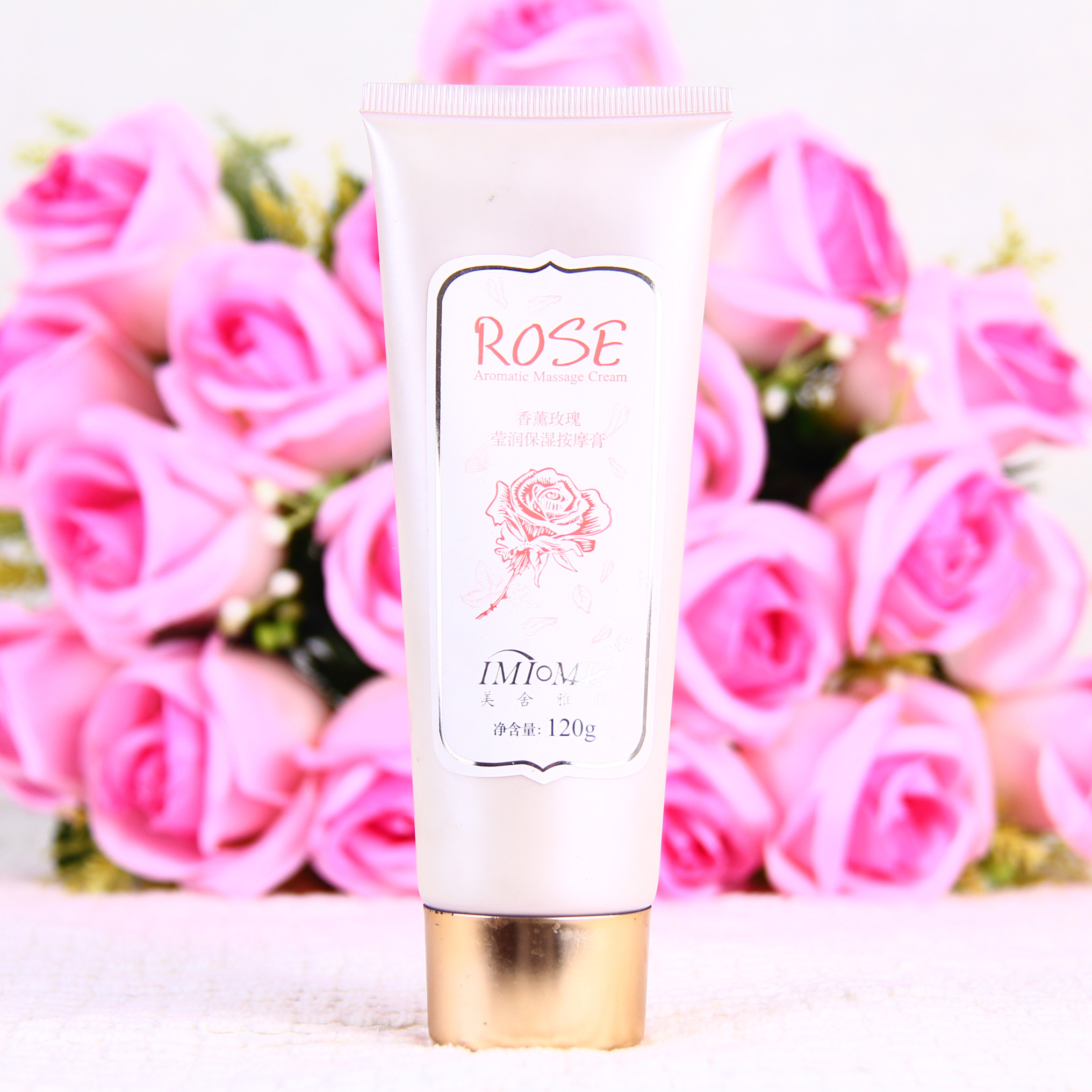 Mercer accord counter genuine aromatherapy Rose Moisturizing Massage Cream soothes the skin