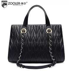 Jules 2015 new leather bag for fall/winter Europe fashion Lady handbag bag leather shoulder bag women