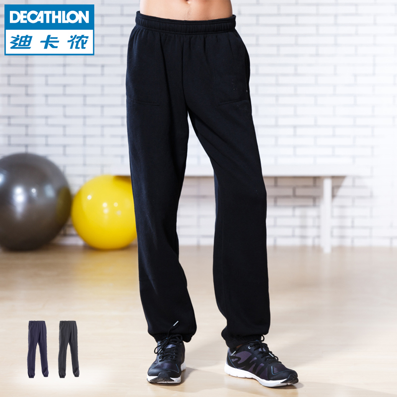 Десятиборье спортивные штаны Мужские брюки шерсть теплые оттенки осень/зима мужские свободные ДОМИОС