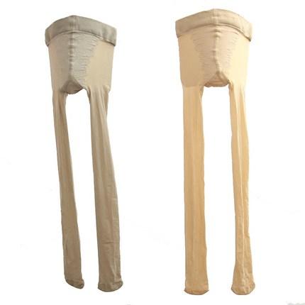 3双装超弹力20d天鹅绒比基尼丝袜