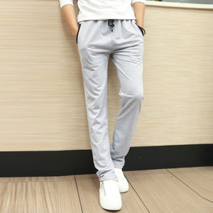 Autumn summer thin section sports pants men casual pants feet trousers Wei pants big yards long pants Korean Slim teen tide
