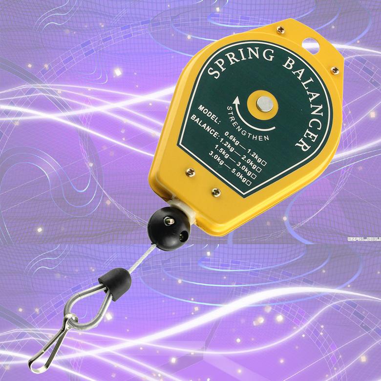 Электрическая отвертка / электрический балансир партии Подъемный крюк Весна Втягиватель Ведро балансировочное колесо