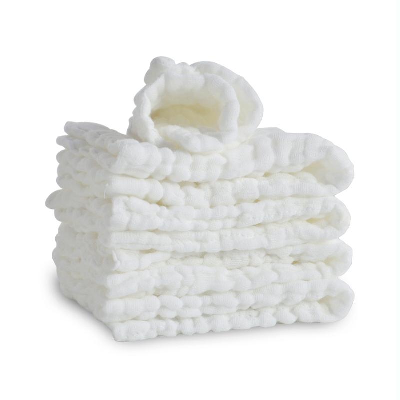 香港 貝吻(BBKISS)嬰兒紗布尿布9層加厚5條裝B2041