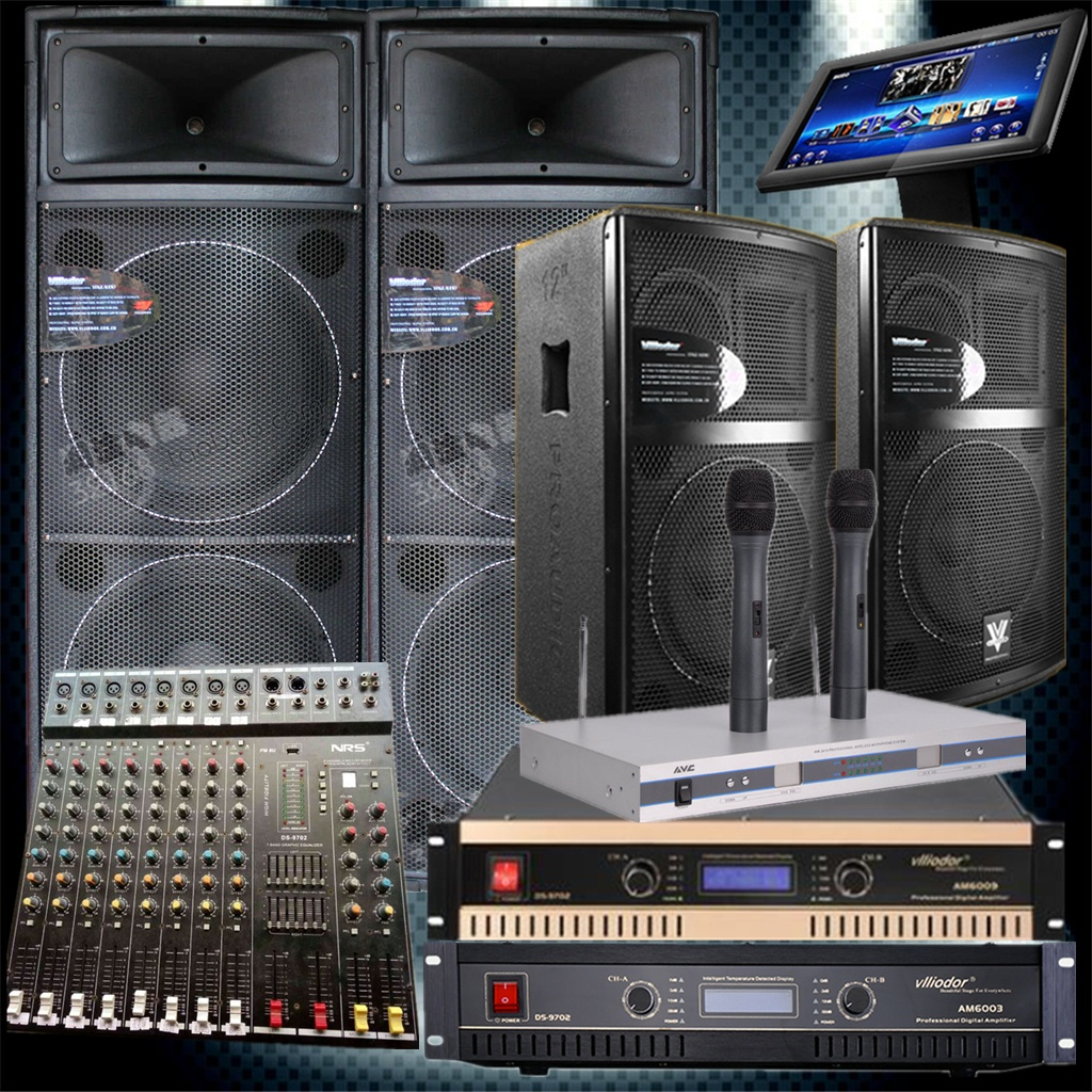 NRS крупномасштабный специальность импорт этап свадьба производительность звук установите моно,парный 15 дюймовый мощность все частота динамик