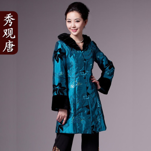 [Show in Tang] pretty flowers Improvement Tang suits Ms. Hitz coat jacket new autumn Jacket Women's Clothing