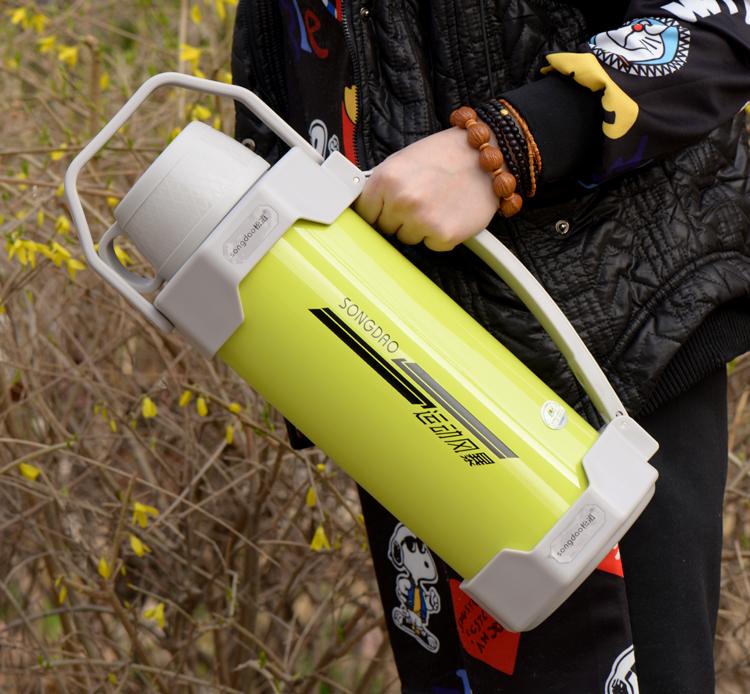 大碼家用保溫壺大容量3.5L戶外2旅游旅行熱水壺瓶不鏽鋼內膽杯4