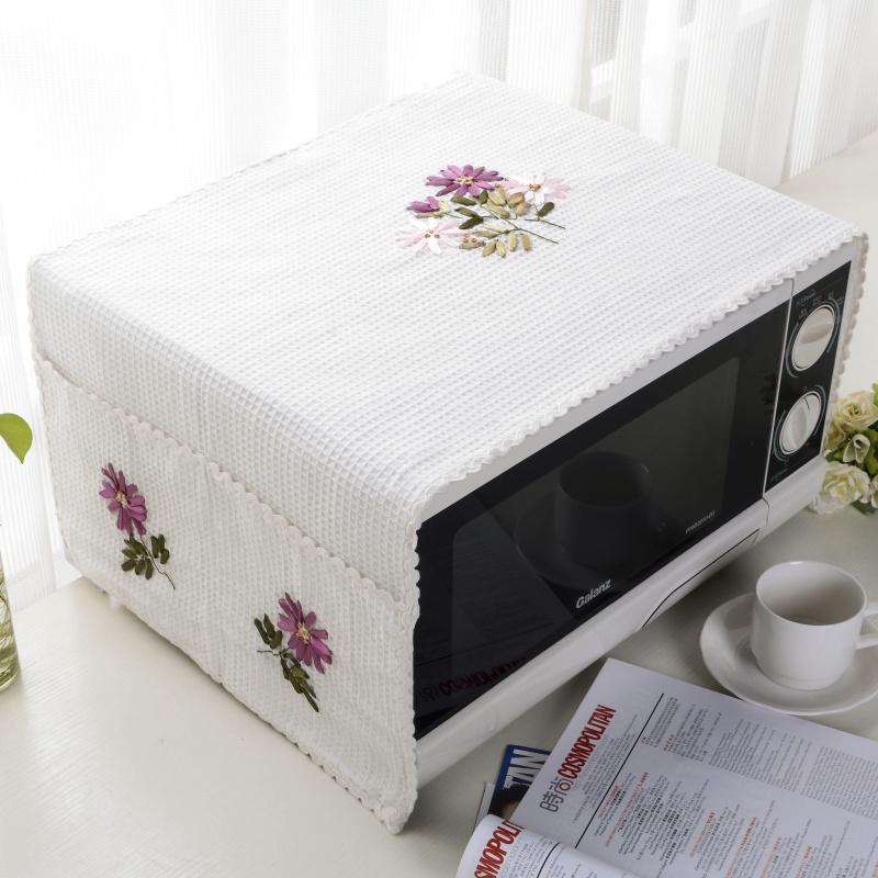 簡約美的格蘭仕微波爐罩防汙防塵罩烤箱罩韓式蓋布微波爐套電爐罩
