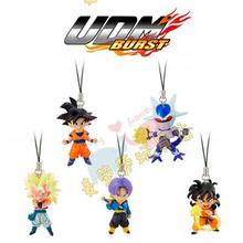 BANDAI authentic twisted egg ten thousand generations Dragon ball Z/GT ultimate transformation UDM into Part 1 pendant