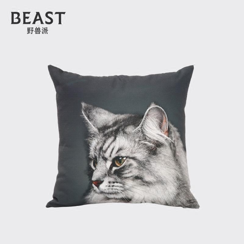 THE BEAST/ дикий зверь пирог сегодня не открыты сердце свет данный еж подушка подушка