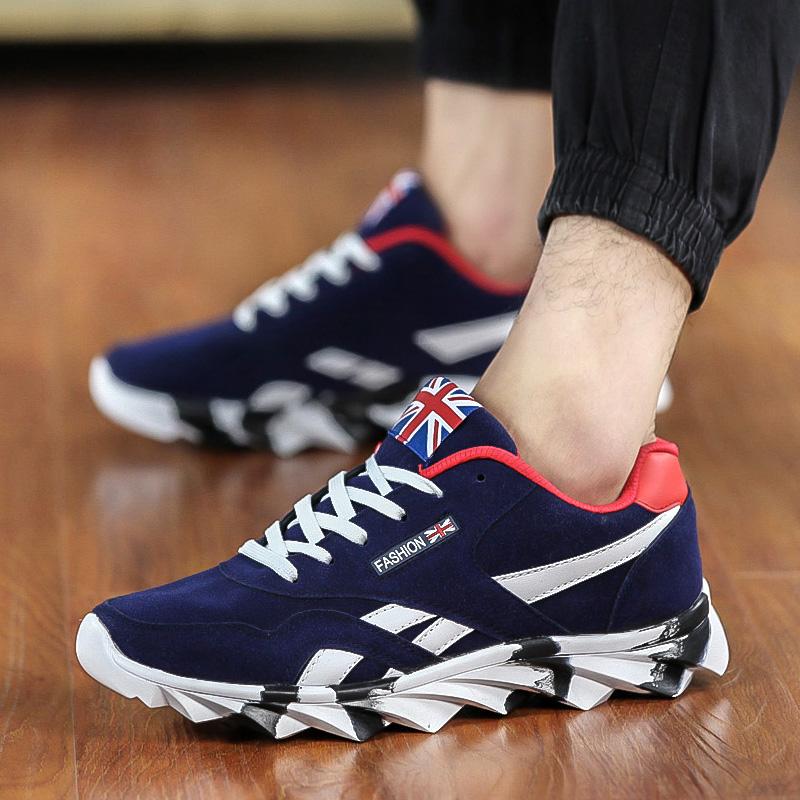 Осень и зимняя мода обувь Холст обувь Мужская повседневная обувь Мужские белые Форрест дышащая Обувь кроссовки мужская обувь