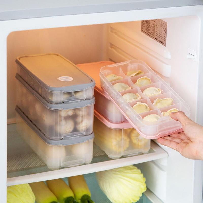 Домой домой решетка пельмени коробка холодильник замораживать пельмени сохранение коробка пластик многослойный яйца коробка скорость замораживать вода клецка в коробку