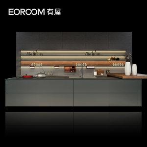 有屋虫洞1.1整体智能厨房橱柜定做现代厨柜订做厨房全屋装修定制