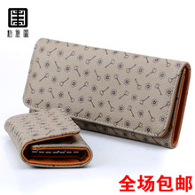 Package mail acto parker classic female long new purse pattern women's fashion bag handbag key bag suit