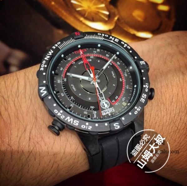 代购天美时Timex Adventure探险系列潮汐测温指南针男手表T2N720