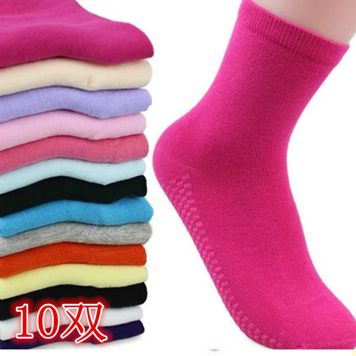 四季袜子女 纯棉袜中筒纯色女脚杆袜白色春秋袜吸湿排汗学生运动
