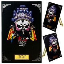 板式卡通泥人Q版京剧人物摆件创意礼物商务出国中国风小礼物