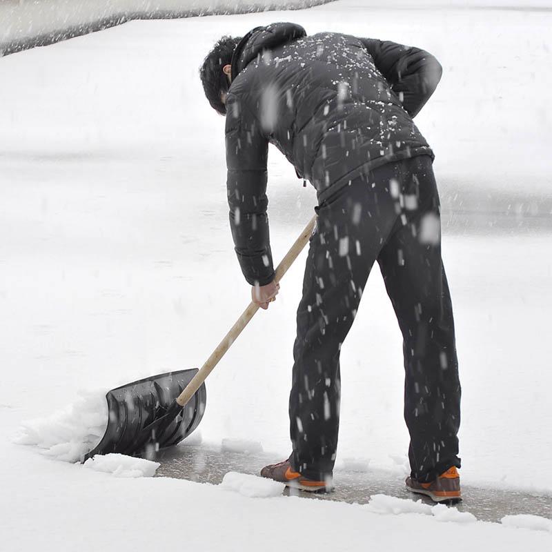 Открытие уплотнённый большой размер пластик снег лопата толкать снег доска кольцо охрана работа толкать снег лопата развертка снег инструмент 111801